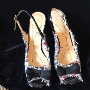 Kate Spade Fabric Heels Made in Italy